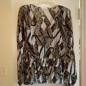 Snakeskin Blouse - worn once!